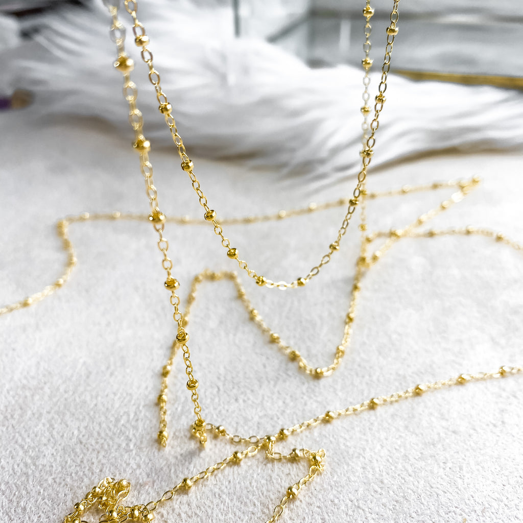 Bubbly Chain Necklace