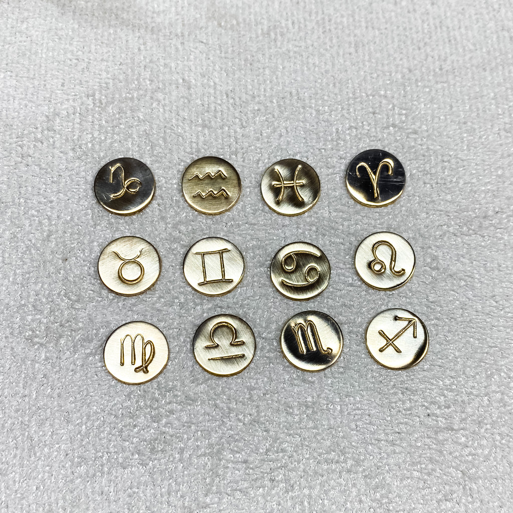 Zodiac Coin Ring