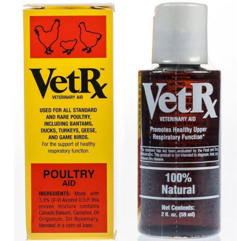 VET RX - POULTRY HEALTH CONCENTRATE 59ML
