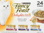 FANCY FEAST CHEDDAR DELIGHTS GRILLED 85G X24