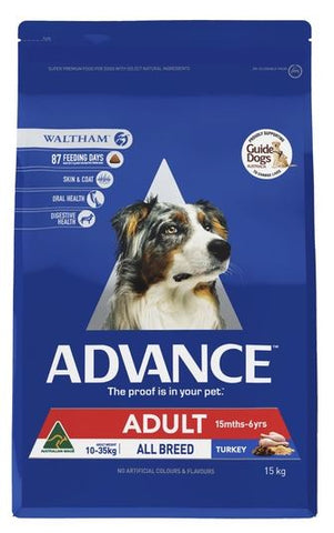 ADV DOG - ADULT 15KG - TURKEY