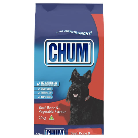 CHUM DRY DOG FOOD 20KG - BEEF
