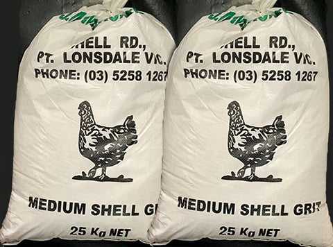 SHELL GRIT (MEDIUM) 25KG