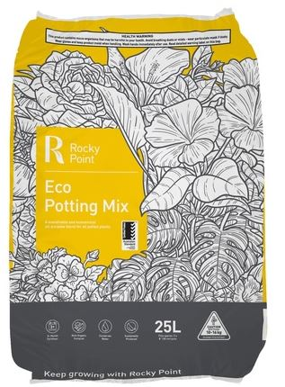 ROCKY POINT ECO POTTING MIX 25LT