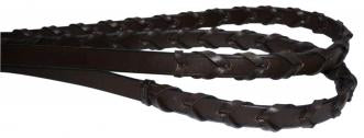 LACED REINS - BLACK