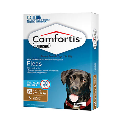 COMFORTIS BROWN 27.1-54KG (6 PACK)