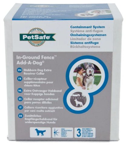 PETSAFE IN-GROUND FENCE ADD-A-DOG COLLAR LARGE
