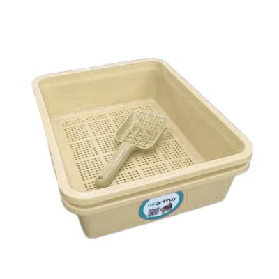 KITTER CAT LITTER TRAYS 3 PIECE SET