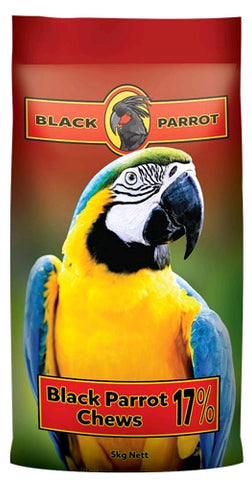 BLACK PARROT CHEWS (5 KG)