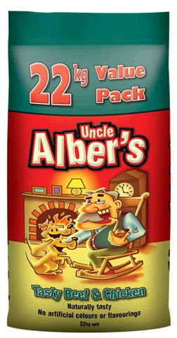 UNCLE ALBERS DRY DOG FOOD 22KG