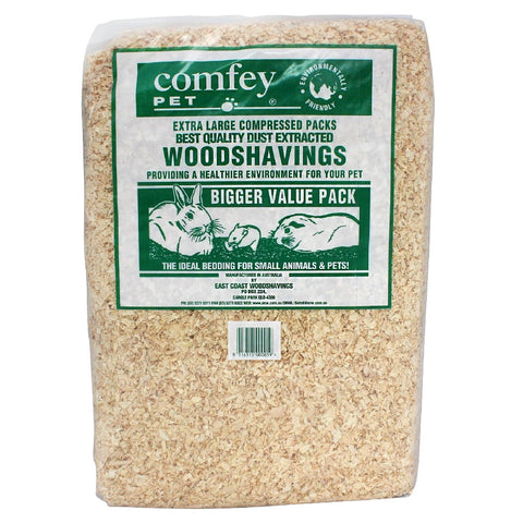 COMFEY PET WOOD SHAVINGS 30L