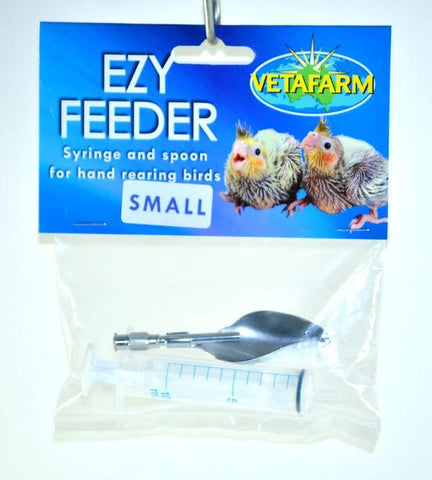VETAFARM EZY FEEDER WITH SPOON SMALL