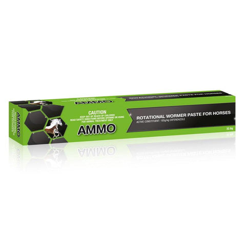 AMMO ROTATIONAL WORMER PASTE FOR HORSES 32.6GM