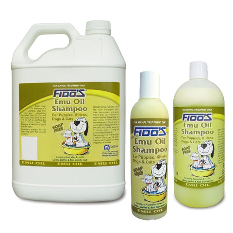 FIDO'S EMU OIL SHAMPOO 250ML