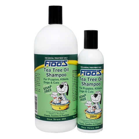 FIDO'S TEA TREE OIL SHAMPOO 250ML