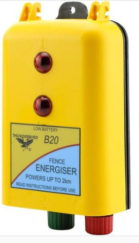 THUNDERBIRD BATTERY ENERGISER 2KM B-20