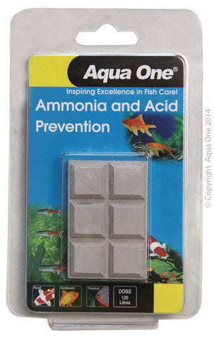 BLOCK AAA PLUS CONDITIONING 20G AMMONIA AND ACID PREVENTION