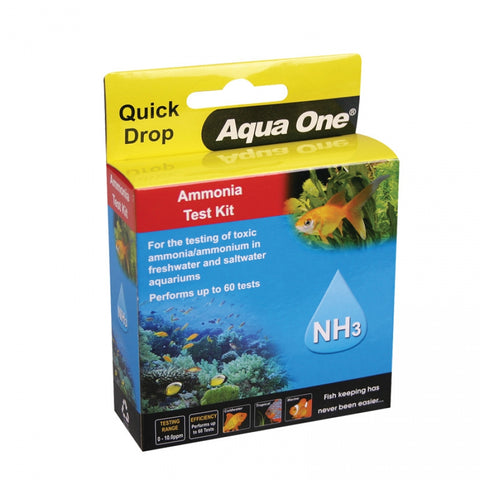AQUA ONE AMMONIA TEST KIT