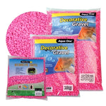DECORATIVE GRAVEL NEON PINK 1KG