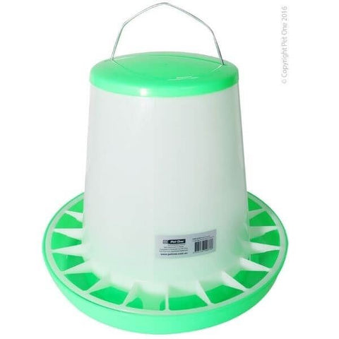 POULTRY GRAVITY FEEDER 5.5 KGS