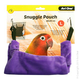 BIRD SNUGGLE POUCH LARGE 28X20CM GRAPE