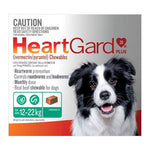 HEARTGUARD PLUS GREEN 12-22KG 6'S