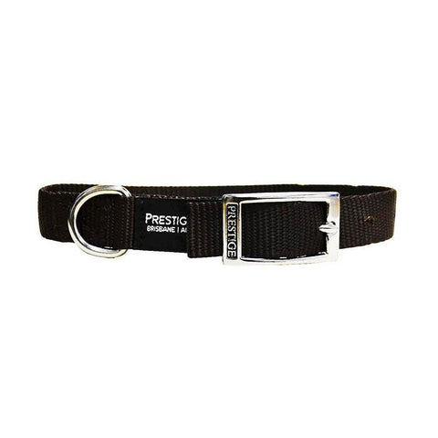 "PRESTIGE SINGLE LAYER NYLON COLLAR 1"" X 18"" (BROWN 46CM)"