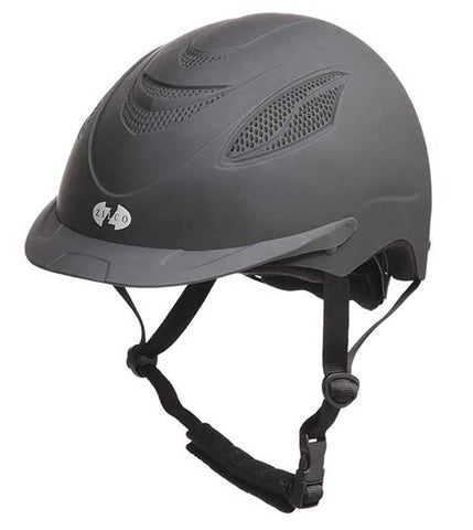 HELMET OSCAR LITE BLACK (MEDIUM)