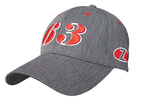 CAP HERITAGE GREY RED