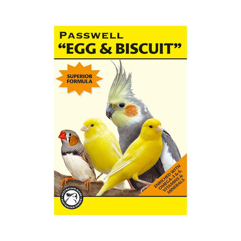 PASSWELL EGG AND BISCUIT 500GM