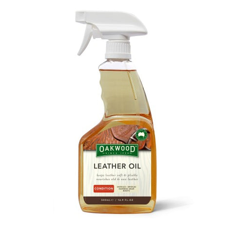 OAKWOOD LEATHER OIL 500ML