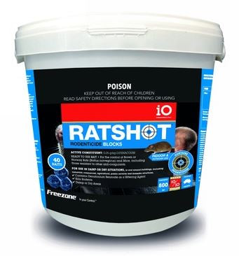 IO RATSHOT BLOCKS 800GM (BLUE)