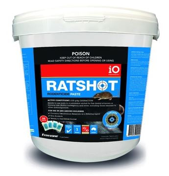 IO RATSHOT PASTE 1KG (BLUE)