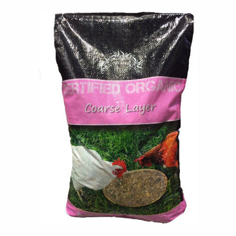 COUNTRY HERITAGE ORGANIC COARSE LAYER 20KG - PINK LABEL