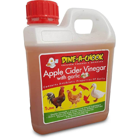 DINEACHOOK CIDER VINEGAR GARLIC 1L