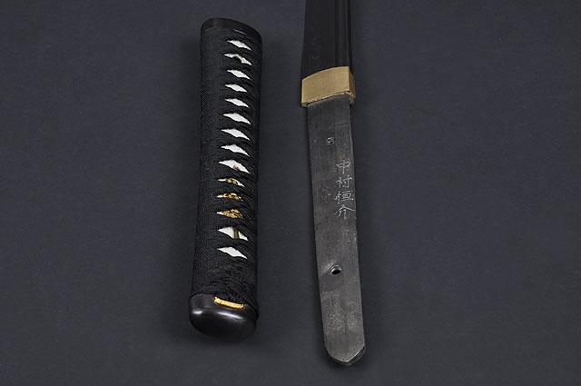 FULLY HAND FORGED CLAY TEMPER PRACTICAL BLACK TREE KATANA SWORD