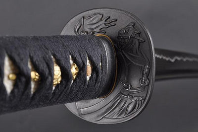 FULLY HAND FORGED WARRIOR JAPANESE SAMURAI KATANA SWORD - buyblade