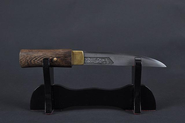 FULLY HAND FORGED TANTO SWORD - buyblade