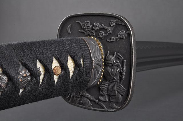 FULLY HAND FORGED WARRIOR & FUJI WAKIZASHI SWORD - buyblade
