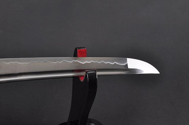 HAND FORGED FULLY FUNCTIONAL BLACK TANTO SWORD - buyblade