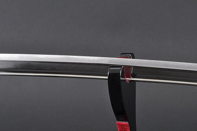 FULLY HANDMADE STAINLESS JAPANESE SAMURAI KATANA TRAINING SWORD - buyblade