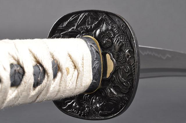 FULLY HANDMADE PRACTICAL WARRIOR JAPANESE SAMURAI KATANA SWORDS - buyblade