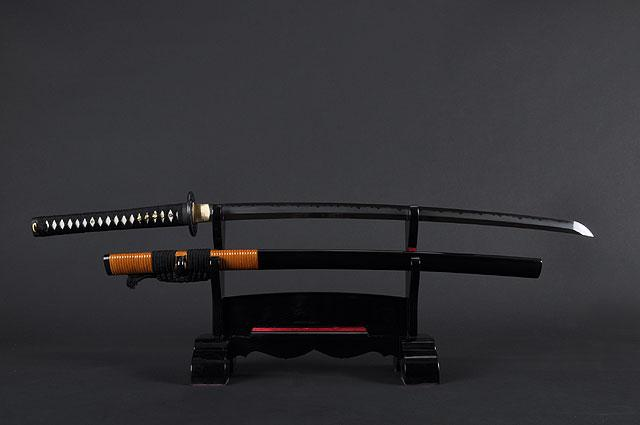 FULLY HAND FORGED CLAY TEMPER PRACTICAL DRAGON KATANA SWORD
