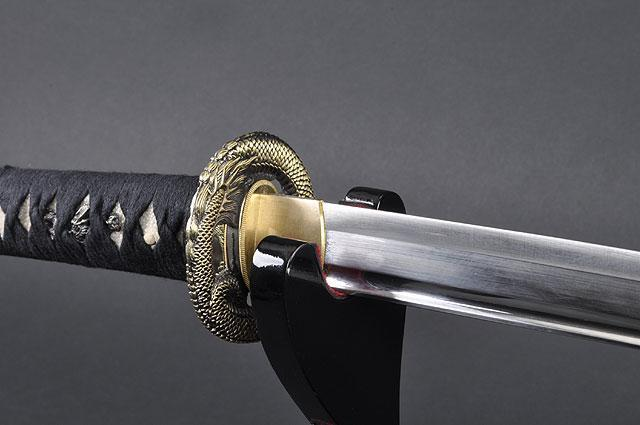 FULLY HANDMADE DRAGON STAINLESS JAPANESE SAMURAI KATANA & WAKIZASHI TRAINING SWORDS - buyblade
