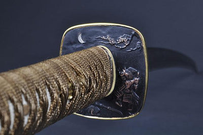 FULLY HAND FORGED PRACTICAL PLUM BLOSSOM JAPANESE KATANA SWORD - buyblade