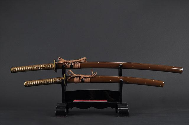 FULLY HAND FORGED PRACTICAL SAKURA KATANAS & WAKIZASHI SWORDS - buyblade