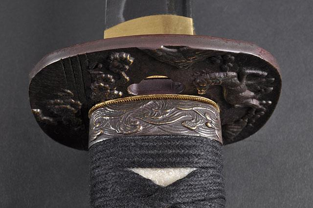FULLY HAND FORGED PRACTICAL FLOWER & HORSE SAMURAI KATANA SWORD - buyblade