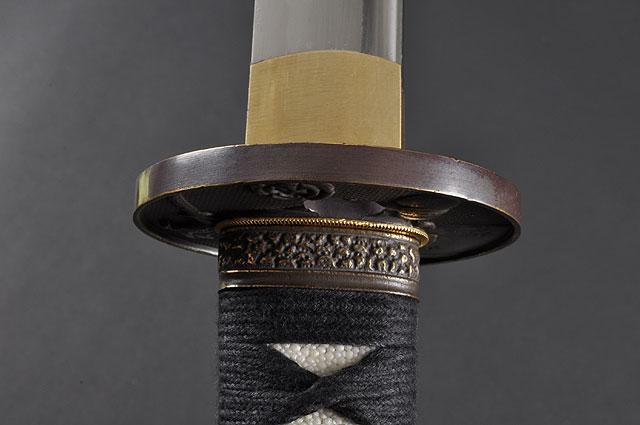 FULLY HAND FORGED FULL TANG WARRIOR & HORSE JAPANESE KATANA SWORD - buyblade
