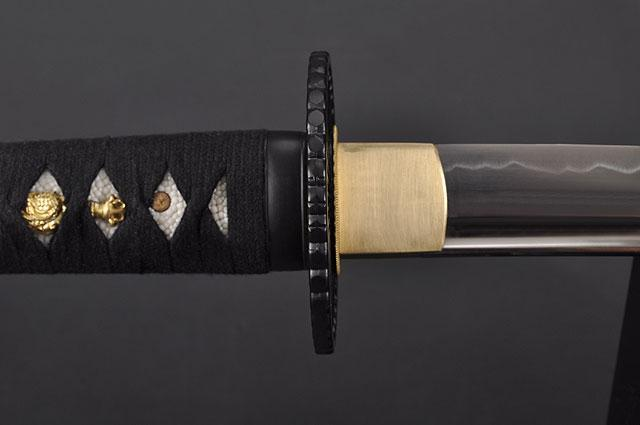 FULLY HAND FORGED FULL TANG JAPANESE SAMURAI KATANA SWORD - buyblade