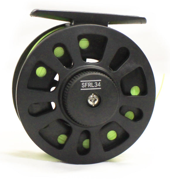 Shu-Fly 3/4 Graphite Fly Reel